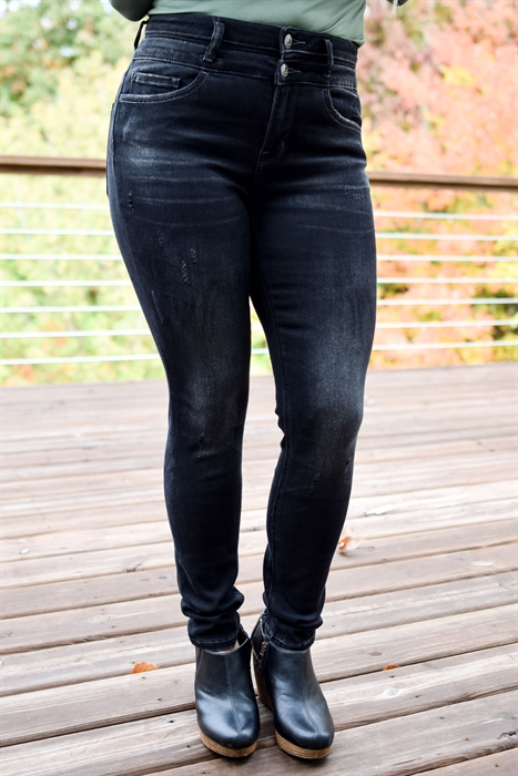 Picture of Vervet Rose High Rise Jeans