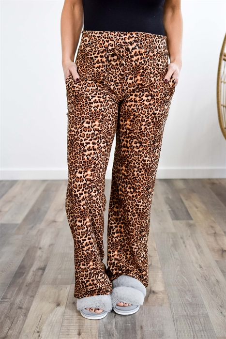 Picture of Leopard Softest PJ Pants