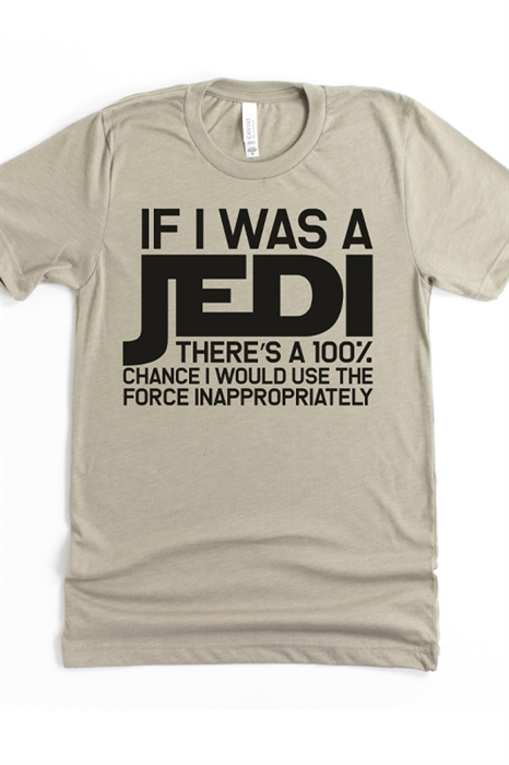 Picture of If I Was A Jedi Graphic Tee
