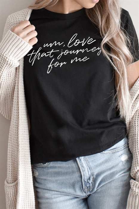 Picture of Love That Journey Graphic Tee