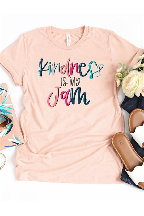 Picture of Kindness Is My Jam Graphic Tee