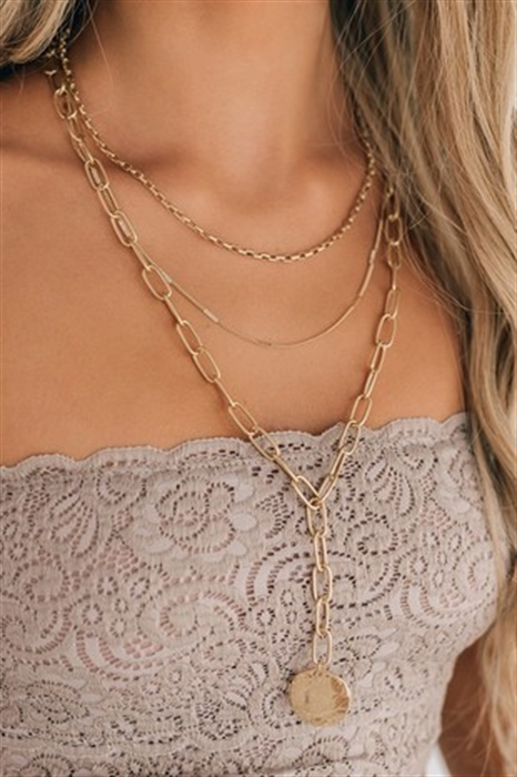 Picture of Layered Charm Necklace