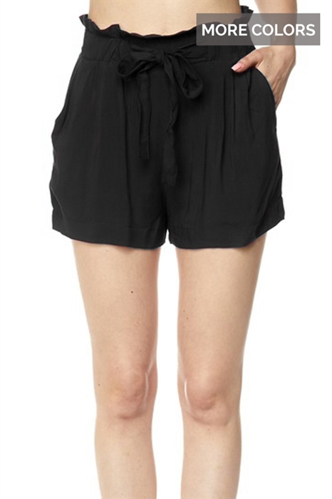Picture of Paperbag Tie Shorts