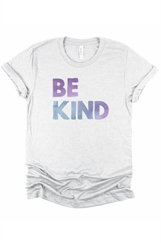 Picture of Be Kind Watercolor Graphic Tee