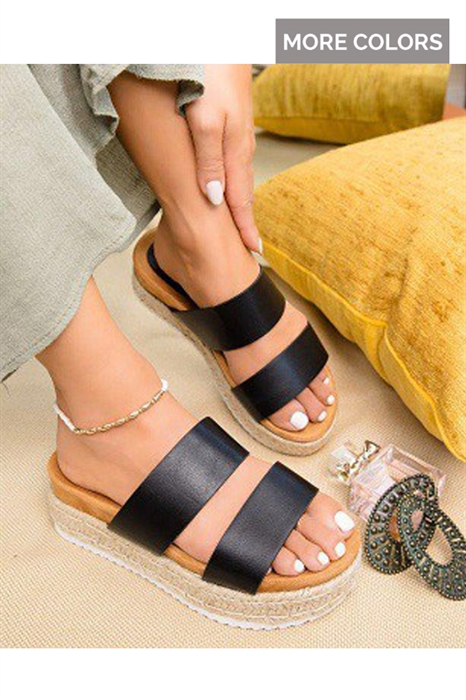 Picture of Ava Platform Double Strap Sandals