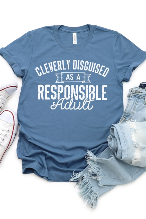 Picture of Cleverly Disguised Graphic Tee