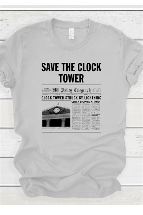 Picture of Save The Clocktower Graphic Tee