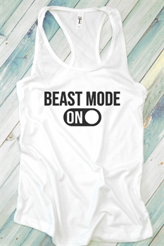 Picture of Beast Mode On Graphic Tank