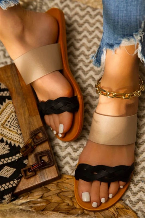 Picture of Andrea Braided Sandals