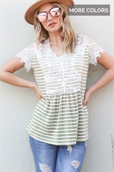 Picture of Eliza Lace Top