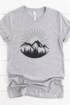 Picture of Mountains & Forest Graphic Tee