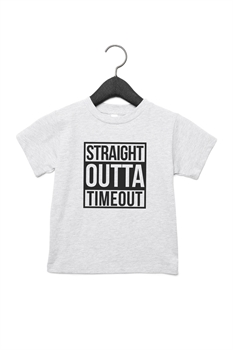 Picture of Straight Outta Timeout Graphic Tee