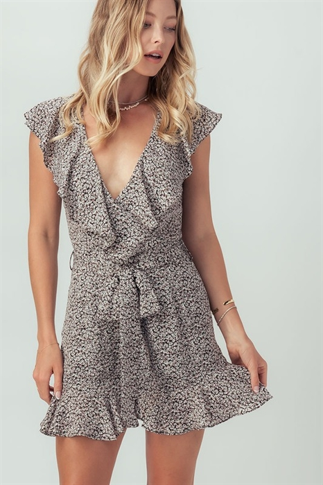 Picture of Floral Ruffle Romper