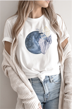 Picture of Blue Moon Crystals Graphic Tee