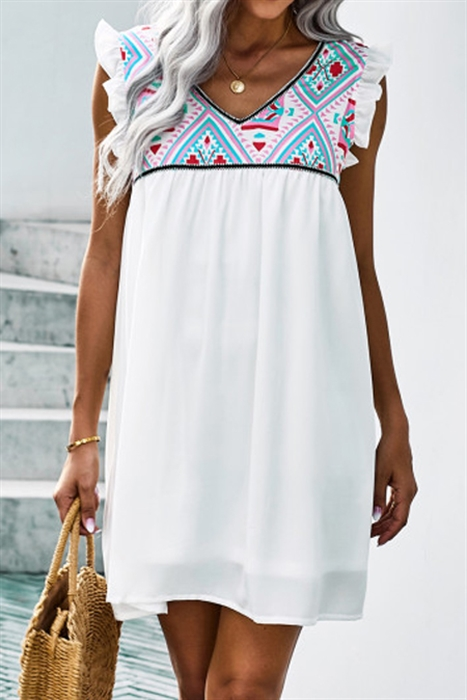 Picture of Airy Aztec Dress