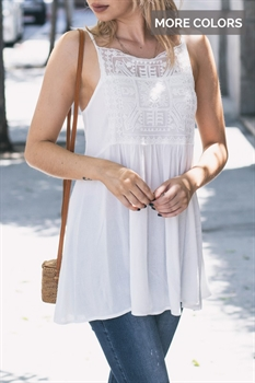 Picture of Carissa Lace Tank