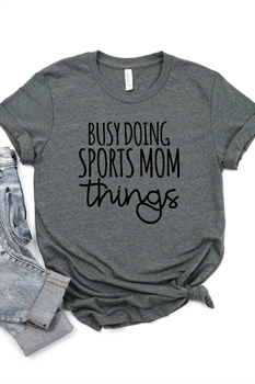 Picture of Sports Mom Things Graphic Tee