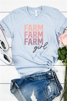 Picture of Farm Girl Graphic Tee