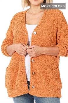 Picture of Button Down Popcorn Cardigan